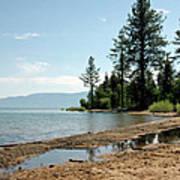 Lake Tahoe Beach Art Print