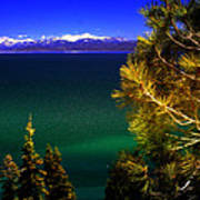 Lake Tahoe Vista Art Print