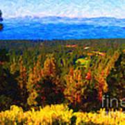 Lake Tahoe Art Print by Wingsdomain Art and Photography