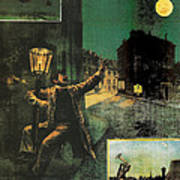 L'amant De La Lune Art Print