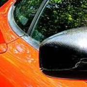 Lamborghini Mirror And Intake Art Print