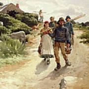 Lamorna Cove Cornwall Art Print
