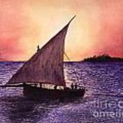 Lamu Kenya Art Print