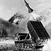 Lance Missile, C1980 Art Print