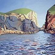 Land And Sea No I - Ramsey Island Art Print