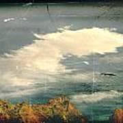 Land Meets Sky Art Print