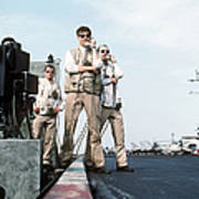 Landing Signal Officers Guide An F-14 Art Print