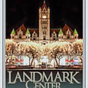 Landmark Center Winter Art Print