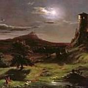 Landscape - Moonlight Art Print