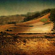 Landscape #20. Winding Hill Art Print