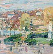Landscape In Tours Art Print