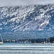 Landscape Lake Tahoe Art Print