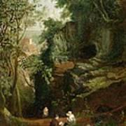 Landscape Near Clifton Art Print