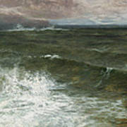 Lannacombe Bay Art Print