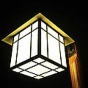 Lantern In The Night Art Print