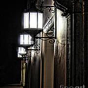 Lanterns Symmetry Art Print