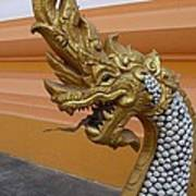 Laos Naga  Art Print