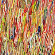 Large Acrylic Color Study 2012 Art Print