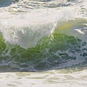Large Waves On The Coast Of Maine Art Print