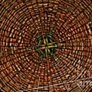 Largest Round Barn Ceiling Art Print