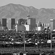 Las Vegas Suburbs Art Print
