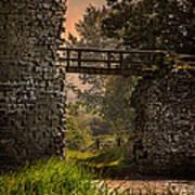 Last Bridge To Minas Tirith  Art Print