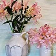 Last Of My Lilies Art Print by Marsha Heiken