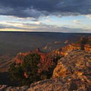 Last Rays At Grand Canyon Art Print