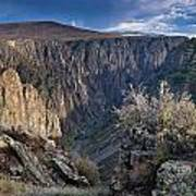 Late Afternoon At Black Canyon Of The Gunnison Art Print