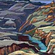 Late Afternoon In The Canyon Art Print