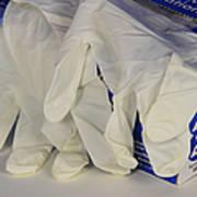 Latex Examination Gloves Art Print