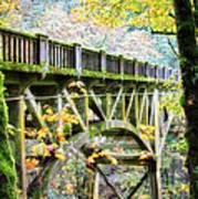 Latourel Creek Bridge Art Print