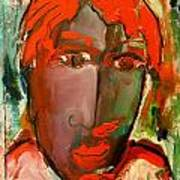 Laubar Face Adele Art Print