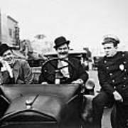 Laurel And Hardy, 1928 Art Print