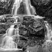 Laurel Falls In The Smoky Mountains Art Print