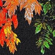 Lavish Leaves 5 Art Print