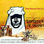 Lawrence Of Arabia, 1962 Art Print by Everett