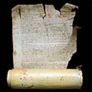 Lawsuit Of The Cathedral Chapter Of Calahorra. Pleito Del Cabildo Catedralicio De Calahorra Art Print