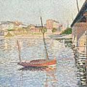 Le Clipper - Asnieres Art Print by Paul Signac