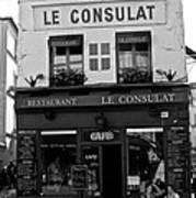 Le Consulat Art Print