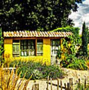 Le Jardin De Vincent Art Print by Chris Thaxter