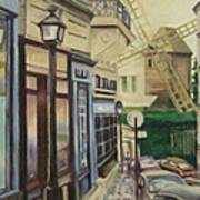 Le Moulin De La Galette Paris Art Print