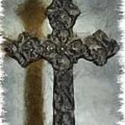 Lead Me To The Cross 1 Art Print