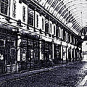 Leadenhall Market Art Print