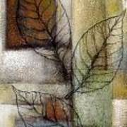 Leaf Whisper 2 Art Print