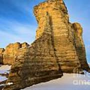 Learn Tower Of Monument Rocks Art Print