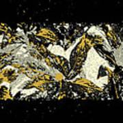 Leaves Of Gold Art Print