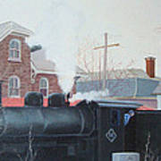 Leaving The Station Art Print