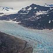 Leconte Glacial Flow Art Print by Mike Reid