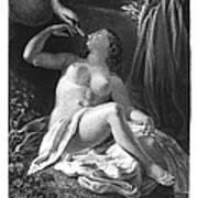 Leda And The Swan Art Print
